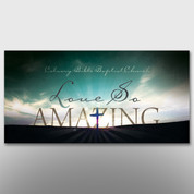 """Love So Amazing"" Easter Banner #14228"