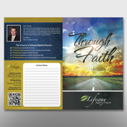 """Through Faith"" Bulletin #14202"