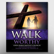 """Walk Worthy"" Theme Magnet #14184"