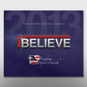 """iBelieve"" Theme Magnet #14194"