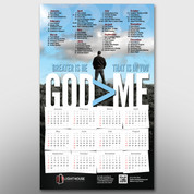 God > Me Theme Calendar #14187
