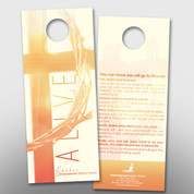 """ALIVE"" Easter Door Hanger (small) #14241"