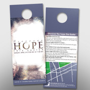 """Discover Hope"" Easter Door Hanger (small) #14242"