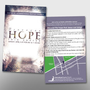 """Discover Hope"" Easter Invite Card #14245"