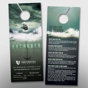 """Anchored"" Theme Door Hanger (small) #14251"