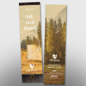 """""""Ask Seek Knock"""" Bookmark #14256"""