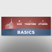 """Back to the Basics"" Theme Banner #14262"