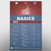 """Back to the Basics"" Theme Calendar #14266"