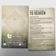 """Choose"" Theme Invite Card #14275"