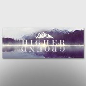 """Higher Ground"" Theme Banner #14277"