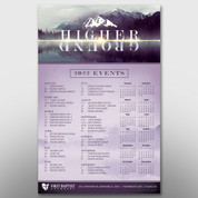 """Higher Ground"" Theme Calendar #14280"