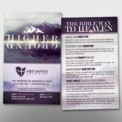 """Higher Ground"" Theme Invite Card #14282"