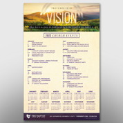 """Vision"" Theme Calendar #14288"