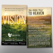 """""""Vision"""" Theme Invite Card #14290"""