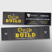 """""""Rise Up and Build"""" Bookmark #14293"""