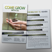 """Come Grow With Us"" Invite Card #14063"