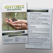 Spanish Invite Card Front & Back