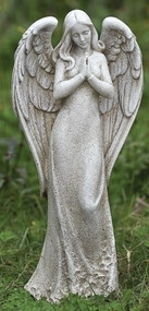 14.5in Praying Angel Garden Statue