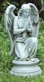17.5inch Praying Angel Garden Statue