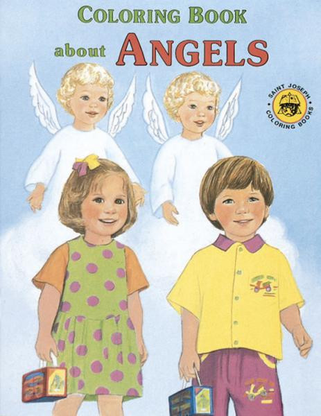 Coloring Book - Angels - Giftswithlove,Inc.