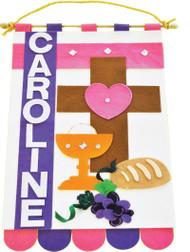 First Communion Banner Kit, For Boys or Girls