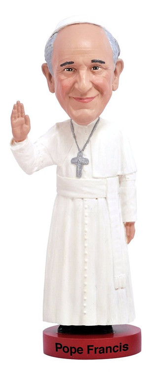Pope Francis Bobble Head Doll