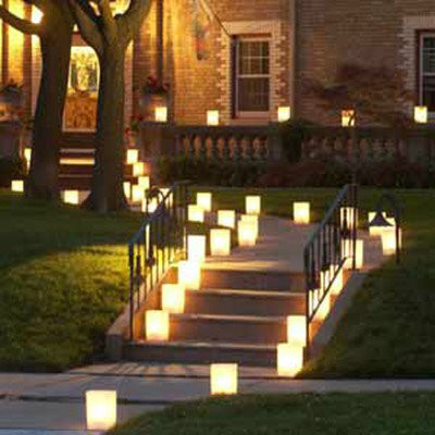 Luminaria Votive Tea Lights, 10, 15 and 20 Hour Luminaria Candles