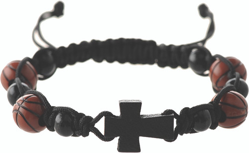 Sports Bracelets on Leather Cord (160012)