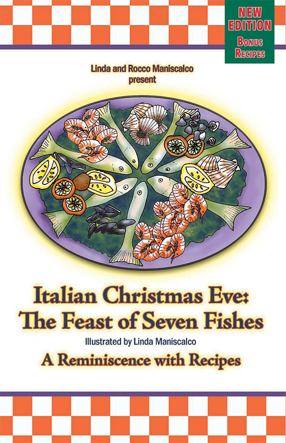 7 Fishes Christmas Eve Italian Recipes.Italian Christmas Eve The Feast Of 7 Fishes Book