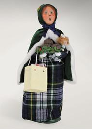 Hunter Green Shopping Family Woman