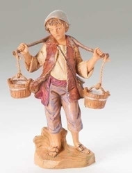"Noah the Water Boy, Fontanini Nativity 5"" Scale figure"