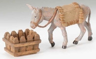 "Fontanini Nativity, 5"" Scale Mary's Donkey 3 Piece Set"