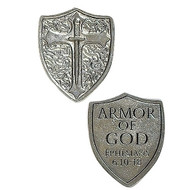 "1.25"" Armor of God Shield Pocket Token"