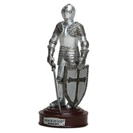 "This 5"" Shining Knight in Armor represents and reminds us about the ""protective gear"" needed for protection against all temptations! Based on Ephesians 6: 10-18"