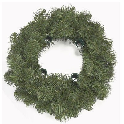 """18"""" Pine Advent Wreath Candle Holder. Candles not included See item #101610 to order 10"""" Advent candles"""