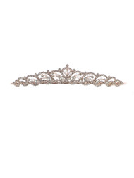 This gorgeous crystal tiara is the perfect accessory for that beautiful communion dress!