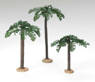 "Fontanini 5"" Scale Nativity figure,  3 Pc. set Palm Trees,.  A wonderful addition to your Fontanini Nativity Collection! Made of polymer."