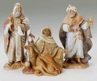 The Fontanini Nativity Three Kings Set.