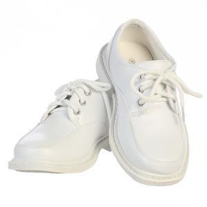Boy's White or Black lace up matte shoes in various sizes.  Youth Sizes 12,  13, 1,  2, 3,  4, and 5
