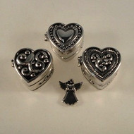Angel in My Heart Prayer Box and Charm