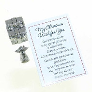 My Christmas Wish for You,  Prayer Box and Charm