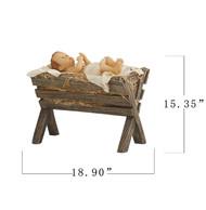 Baby Jesus and Crib