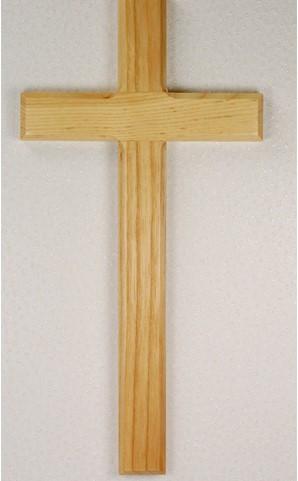 """10"""" Oak Wall Cross. Wall cross comes boxed."""