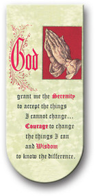 Serenity Prayer Magnetic Bookmark