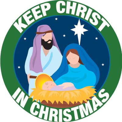 Car Magnet, Keep Christ in Christmas
