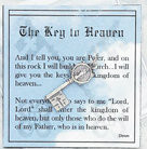 Inspirational Moments, Key to Heaven Token with Prayer Card