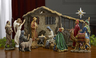 Three Kings Nativity 11 Piece Indoor Standard 10 inch Set