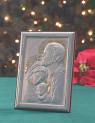 Holy Family Silver Icon
