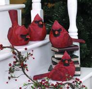 Cardinal Figurines