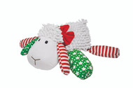 """LIl Prayer Buddy, LIMITED EDITION Christmas Lamb. Prayerful Louie the Lamb sings """"Away in a Manger"""" (in a child's voice) and recites the Lord's Prayer with the push of a leg.  10"""" Long"""